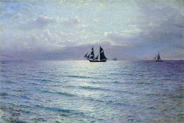 Лагорио Л.Ф.  Море 1898 (Курская государственная картинная галерея им. А.А.Дейнеки)