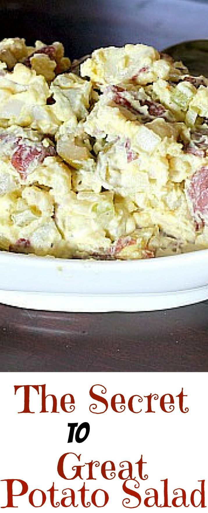 There's a reason a perfect potato salad is ... well...perfect! It's all about choosing the right potato, and the technique in boiling.  Brush up on your potato facts here.