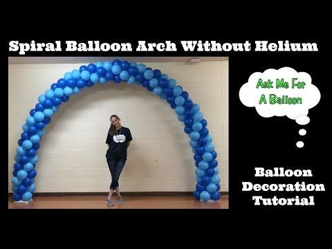 The 25 best balloon arch ideas on pinterest balloon for Balloon arch no helium