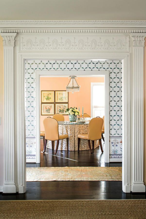 203 best images about dining rooms on pinterest gardens for Dining room entrance designs