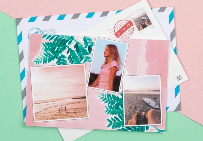Fizzer - Carte postale personnalisée avec vos photos (avec images) | Carte postale personnalisée ...