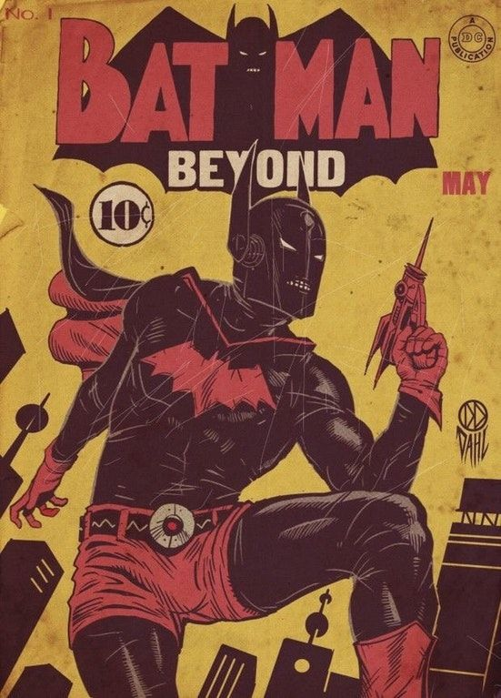 47051f0ee0 1950's Batman Beyond : RetroFuturism | Retrofuturistic | Batman ...