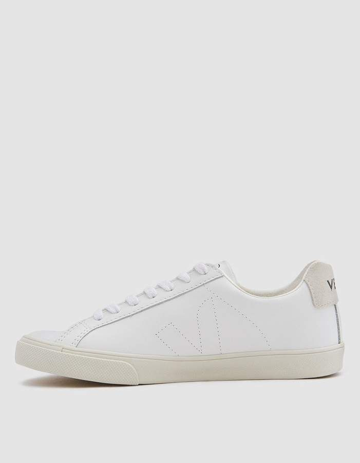 Esplar Leather Sneaker in Extra White | Leather sneakers