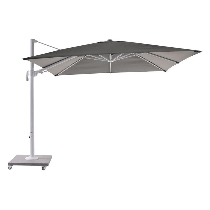 Bellini Home and Gardens Block Palermo 10 ft. Cantilever Parasol with Granite Base - LF01UM110WB2039