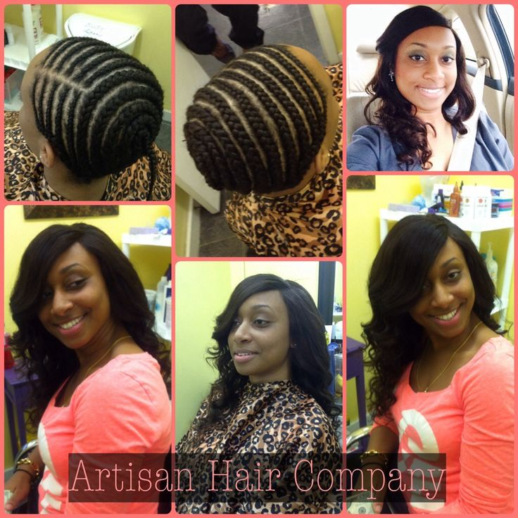 Full Sew In Weave With No Leave Out – Haircuts Site