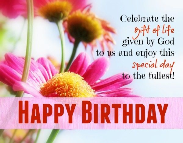 17 Best ideas about Christian Birthday Wishes – Birthdays Greetings