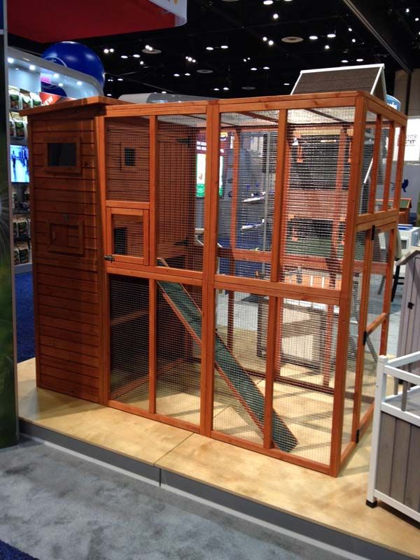 Wooden Cattery By Trixie Http Trixiepet Com This Is A