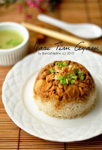 Steamed Chicken Rice | Bunda Nadine