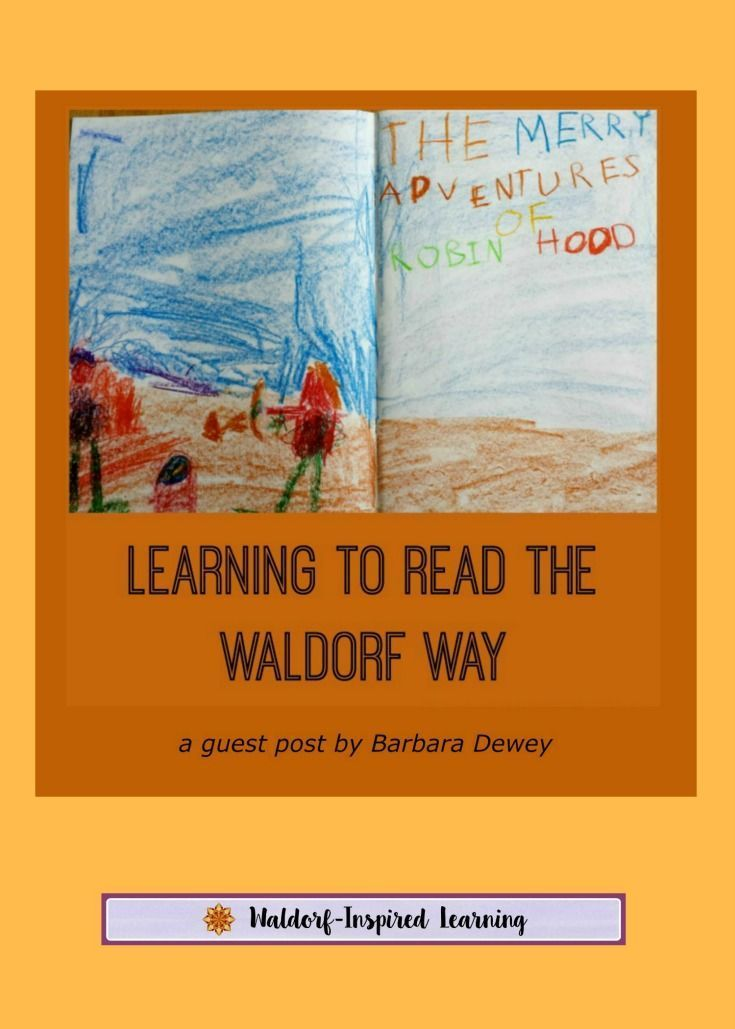 Learning to Read the Waldorf Way, a guest post by Barbara Dewey, that describes the Waldorf approach of starting with stories, drawing, writing and then reading. Creating a language-rich environment is the key. Read more here.
