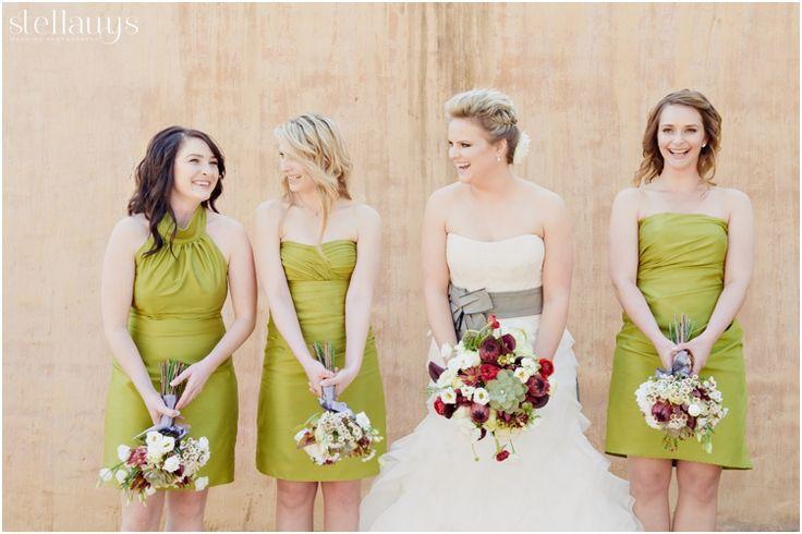 James & Anel's wedding at Oakfield Farm_Bride & Bridesmaids