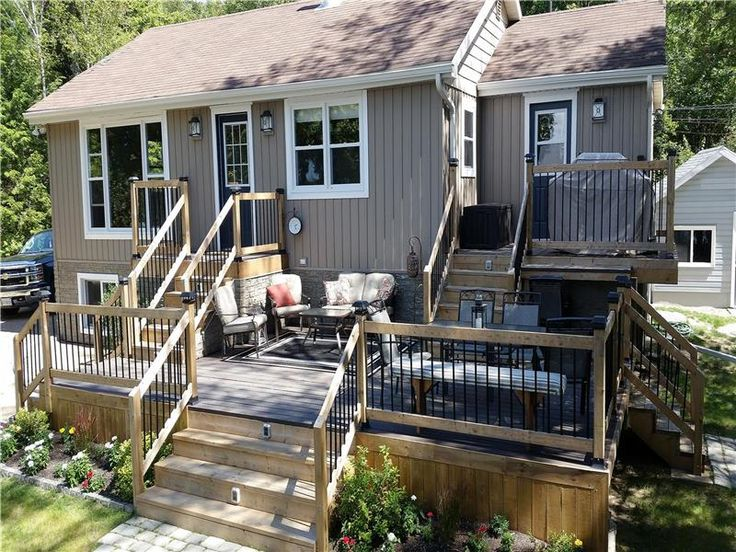PL-23339: NEWLY RENOVATED open-concept cottage (floor and trim to be finished in Spring of 2017) with a large multi-level deck, located on the East shore of Fraser Lake,  ...