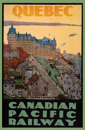 Quebec City & its famous Château Frontenac