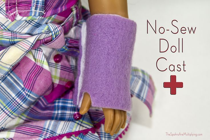 No-Sew Doll Cast | by The Spohrs Are Multiplying...