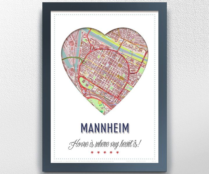 Mannheim+von+GALERIE+IM+WANDEL+auf+DaWanda.com