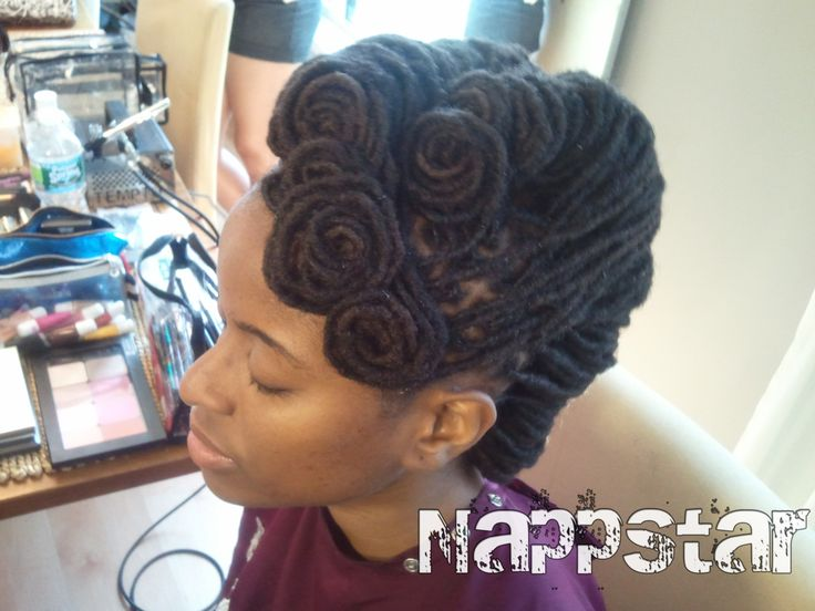 Natural Hair Locs Styles: 138 Best Images About African Hairstyles (No Perm, No