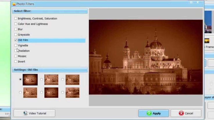 How to apply artistic filters in photo slideshow? Now very easy with http://smartshow-software.com/ Apply filters in one click and enjoy your slideshow! #software #slideshow #smartshow3d