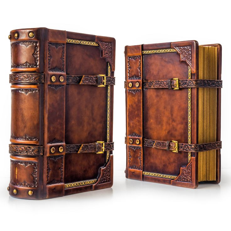 how to make a leather bound journal
