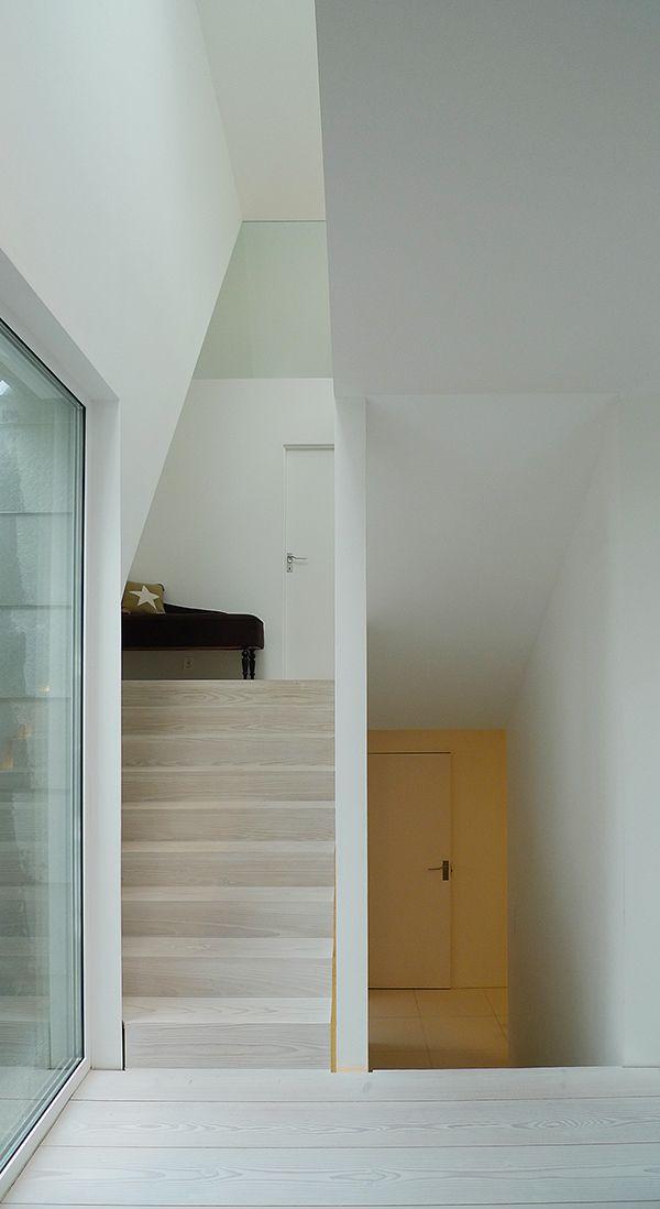 Driv Arkitekter | Bestemorstua Hallway Staircase Wood Interior Door Architecture Oslo Arkitektur