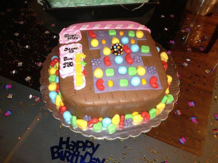 Candy chrush cake!!!