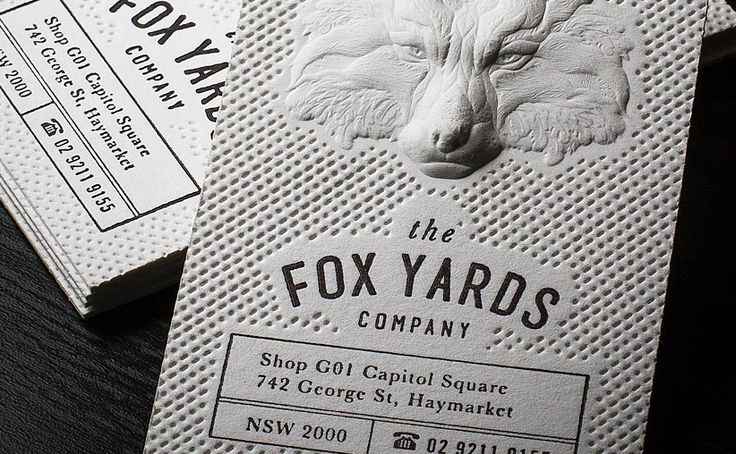 Letterpress Business Cards - Letterpress Printing by Jukebox - letterpress business card