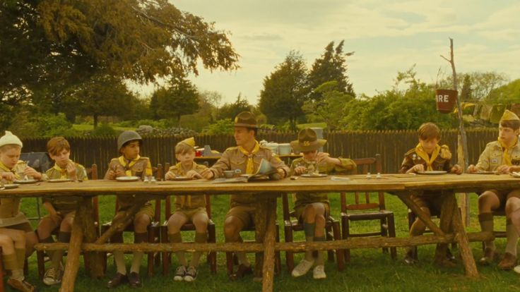 Edward Norton as Ward in Moonrise Kingdom (2012)
