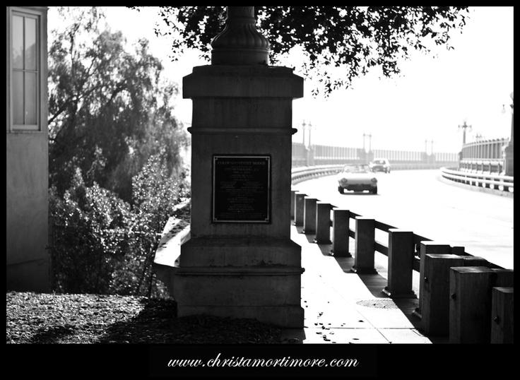 Pasadena Street Bridge Altadena california, Pasadena