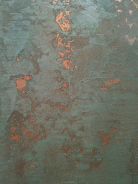 3 shades of Luster Stone Plaster with embedded Copper:
