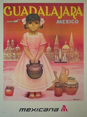 Mexicana ~ Guadalajara , 1950
