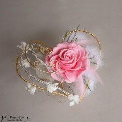 Porte alliances - Fleurs Mariage - Fleurs d'un Nouveau Monde - Fleurs d'un Nouveau Monde