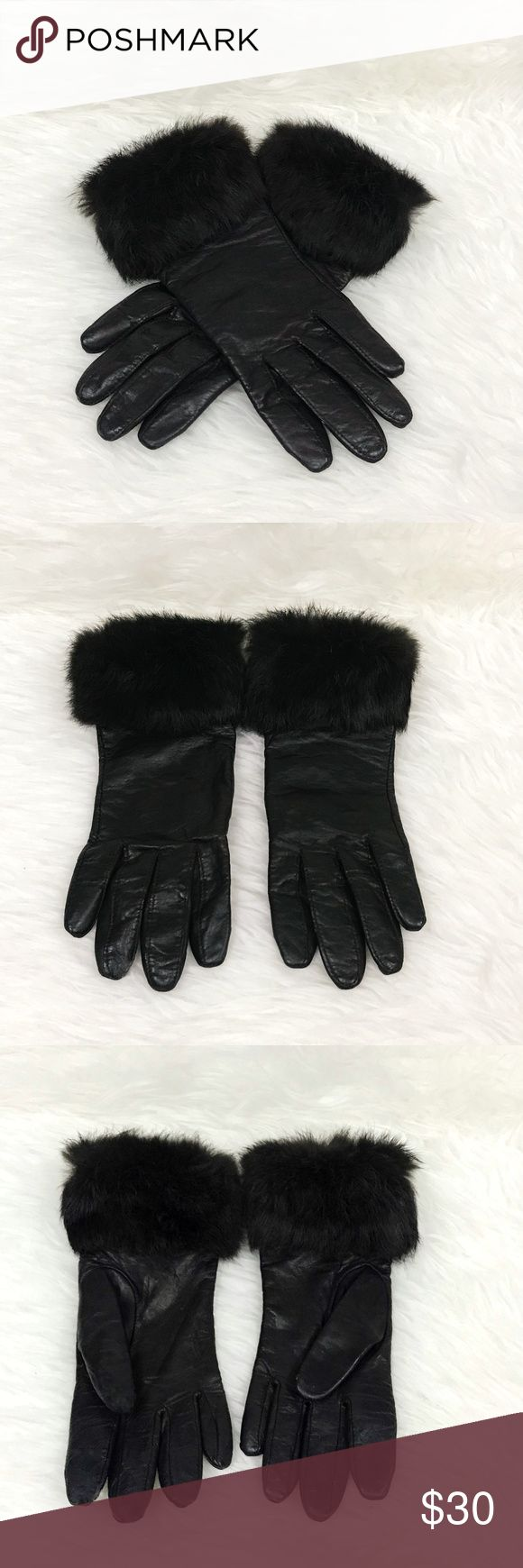 Chocolate Brown Genuine Leather + Faux Fur Gloves Chocolate Brown Genuine Leather + Faux Fur Gloves. 100% Leather Body. 100% Polyester Interior Lining. I bought these at Nordstrom to go with my UGG chocolate brown earmuffs! RN 17541. Size: 6 1/2. Condition: Gentle Use. Nordstrom Accessories Gloves & Mittens