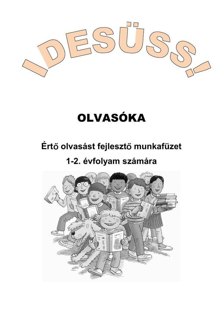 Olvasóka 1-2. évfolyam számára Hungarian workbook