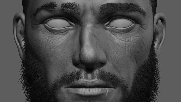 Head Practice, Marco Taffelli on ArtStation at https://www.artstation.com/artwork/head-practice-32a56376-847a-4035-ad28-4ee96f0ca317