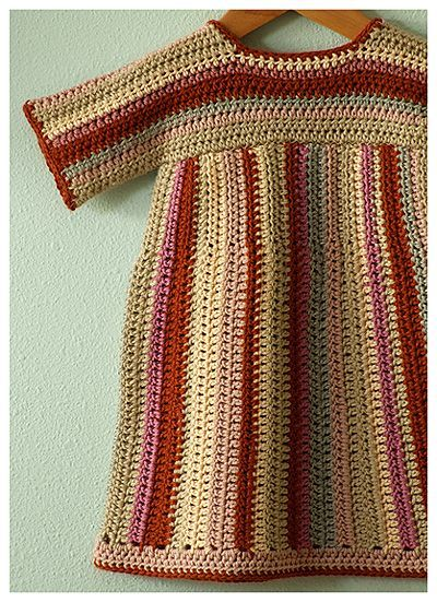 Crochet Baby Dress Posie Gets Cozy: Tulipfield Dresses: Saskia