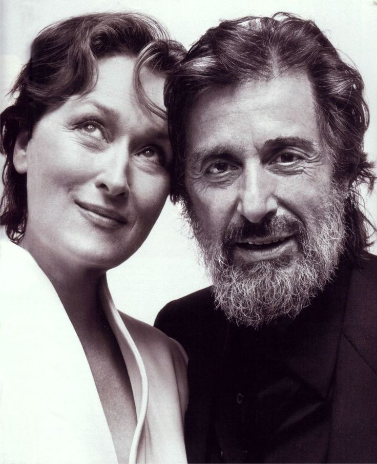 Meryl Streep and Al Pacino.Just because they are so good.