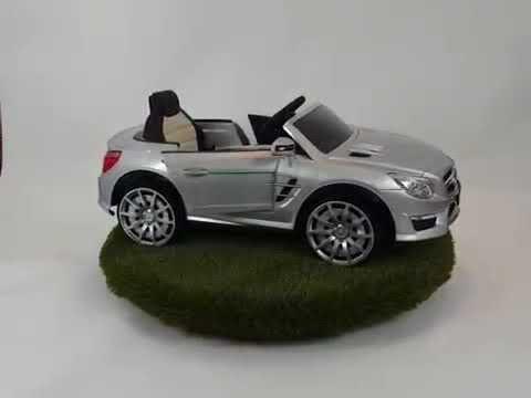 Coche batería infantil Mercedes SL63 AMG 12V