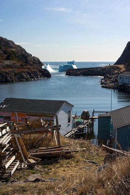 Quidi Vidi Iceberg, Newfoundland by Chris Muggridge, via Flickr