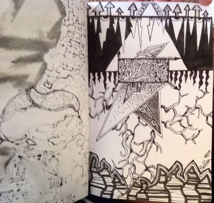 Doodles by Sonya sketchbook page