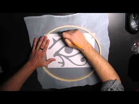 This is a Video tutorial that shows you how to screen print using adhesive vinyl, sheer fabric and your silhouette cutter. Materials list below. www.VintageF...
