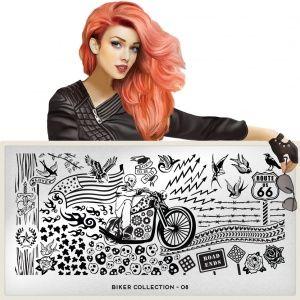skull, tattoo, birds, rose, wire, steampunk