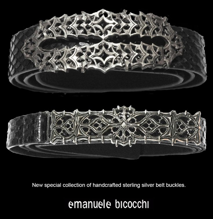 Discover the new emanuele bicocchi handcrafted belt collection for men.   Python belt with sterling silver buckle.   #emanuelebicocchi #belt #newline #newcollection