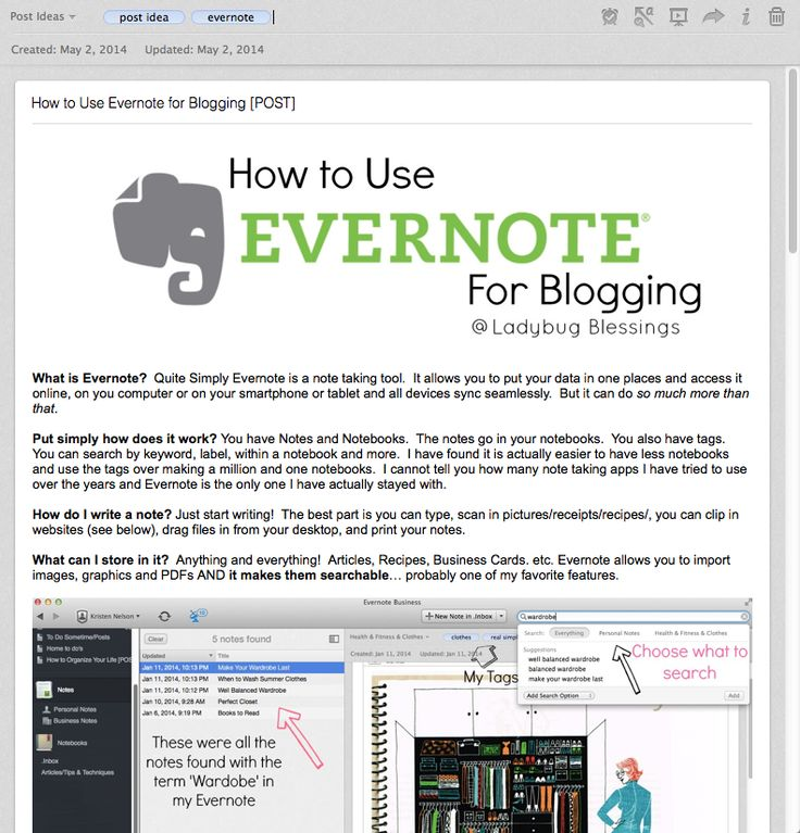 Blogging Tips   How to Blog   how to use Evernote for Blogging