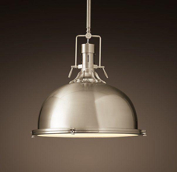 harmon pendant at restoration hardware kitchen bar lighting