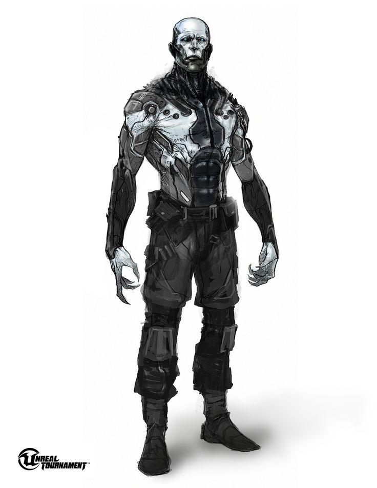 Unreal Tournament Necris Concept,  Nano-Black.jpg (1275×1650)