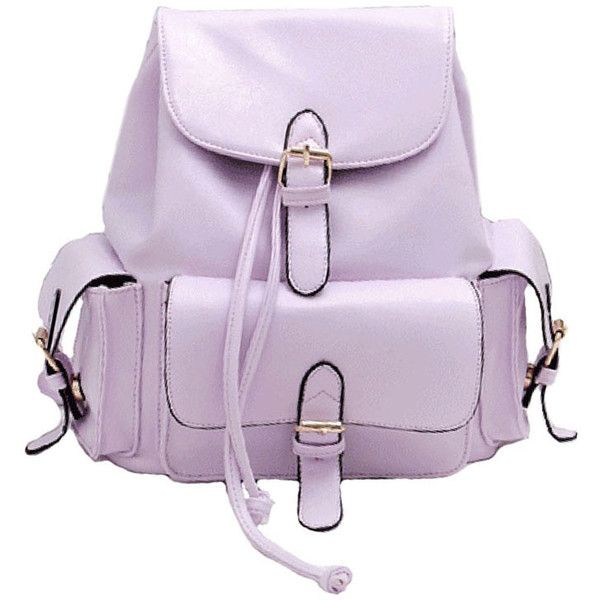 Chicnova Fashion Preppy Drawstring Candy Color Backpack ($36) ❤ liked on Polyvore featuring bags, backpacks, accessories, chicnova, purple backpack, preppy bags, drawstring backpack, knapsack bags and preppy backpacks