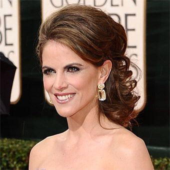 mother of the bride hairstyles partial updo   Red Carpet Wedding Hairstyles : Wedding Hairstyles Gallery