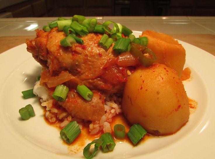13 mejores imgenes de comfort food en pinterest youtube korean spicy braised chicken dakbokkeumtang recipe httpyoutube forumfinder Gallery
