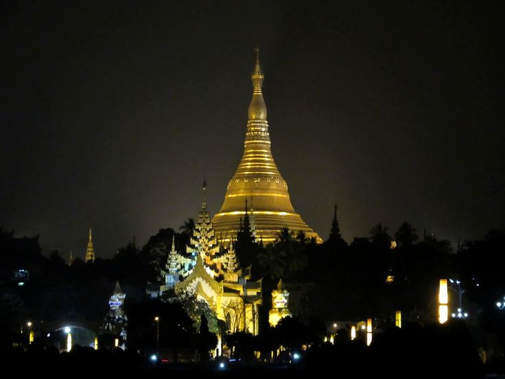 Founded by King Okkalapa in the 6th century BC, the Shwedagon Pagoda is an enduring symbol of Yangon, Myanmar (Burma).