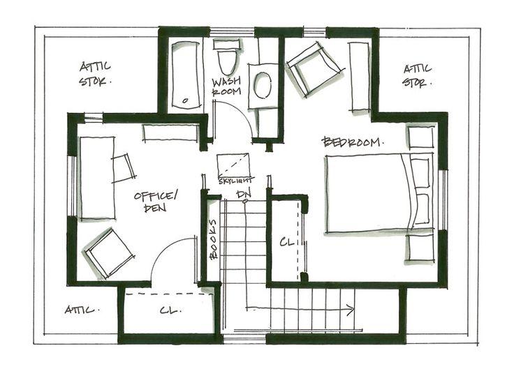 attic floor plan ideas - Pin by J K Hilgers on floor plan