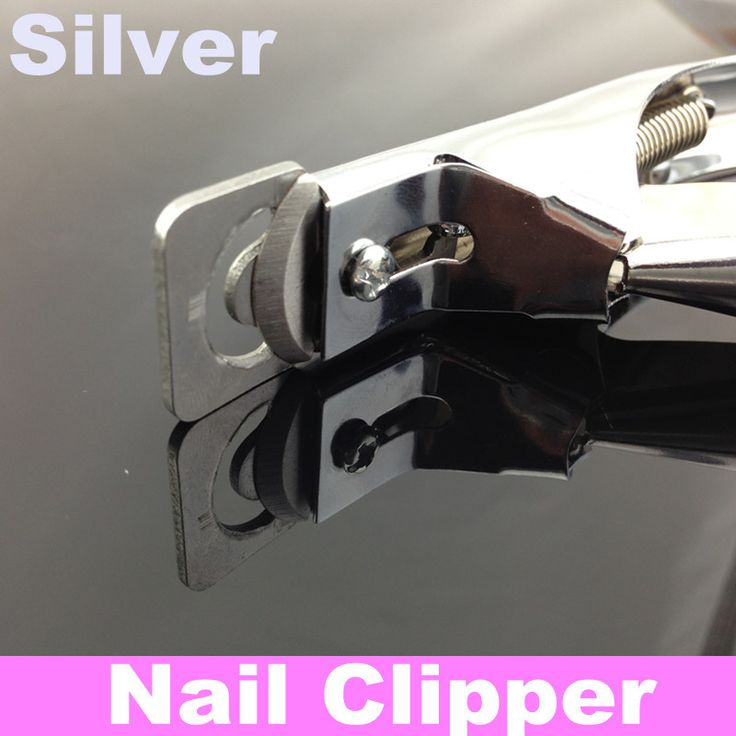 Край резак Акриловые/Ложь CLIPPER Уход За Ногтями Инструмент, серебряный Цвет + Бесплатная Доставка