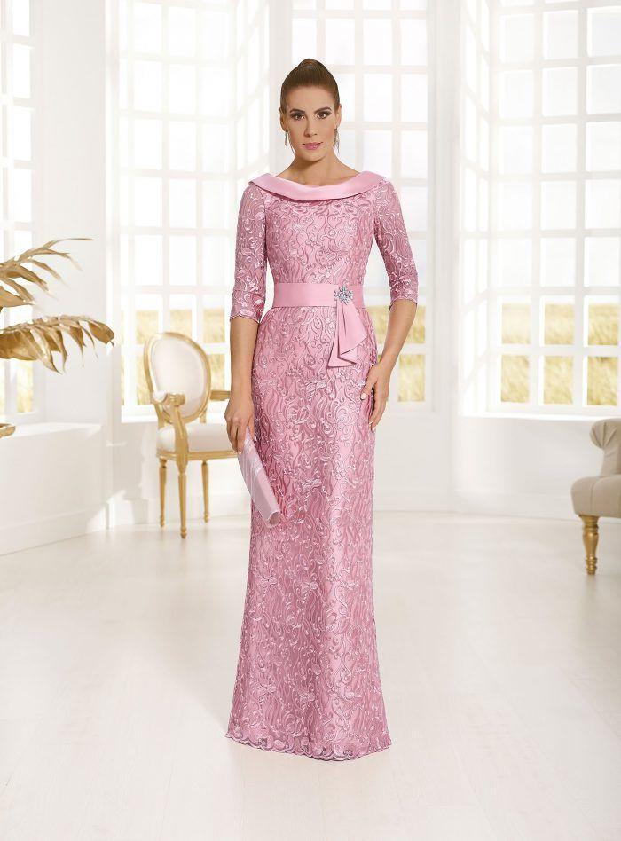 Vestido Color Rosa De Gala En 2019 Vestidos De Fiesta 2018
